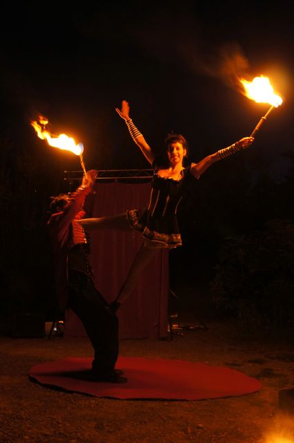 Feuershow, Luzia Bonilla, Lucy & Lucky Loop, The Flying circus